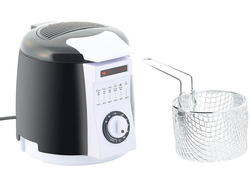 Rosenstein & Söhne Compact Table Top Fryer
